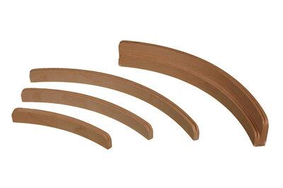 Kaartenstandaard hout 50 cm