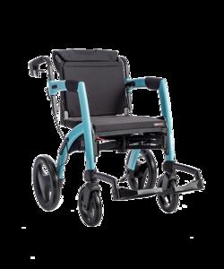 Rollz Motion Rollator en rolstoel in 1